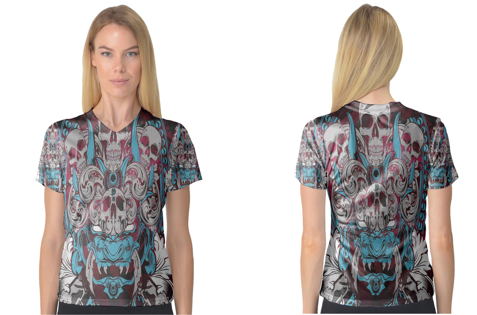 Primary image for Tatoo Collection #2 Women's V-Neck T-Shirt