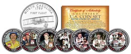 DALE EARNHARDT *7-Time Champion* North Carolina Quarters 7-Coin Set Wins... - $18.76