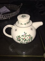 Formalities by Baum Bros Holly Berry Holiday Teapot - $16.82
