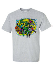 Marvel Comics Villains T-shirt retro Green Goblin Dr Octopus Dr Doom cotton tee image 2