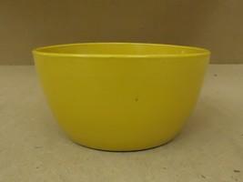 Designer Pot 8 1/2in Diameter x 4 1/2in H Yellow Round Ceramic - $15.16