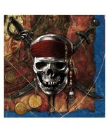 Disney Pirates of the Caribbean 4 Lunch Napkins (16) Party Supplies by H... - $9.79