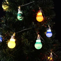 Christmas LED String Ball Lights Xmas Wedding Party Garden - $8.93