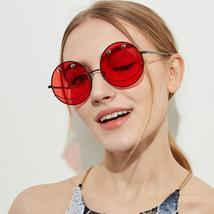 2020 Trending Round Metal Frame Party Sunglasses Luxury Shades for Women... - $44.00