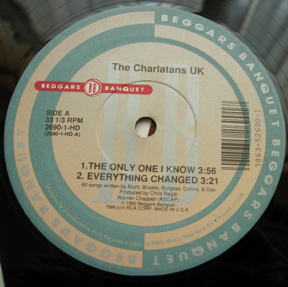 Charlatans UK - The Only One I Know - Beggars Banquet 2690-1-HD