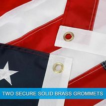 3'x5' Betsy Flags United States Flags Brass Grommets Nylon Sewn Embroidered SEAL image 6