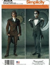 SIMPLICITY PATTERN 0256 MEN'S COSTUMES SIZE BB (46-52) - $5.00
