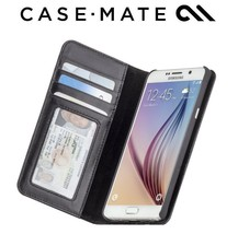 Case Mate Wallet Folio Case Leather Card Slots for Galaxy Note 5 Black N... - $66.32