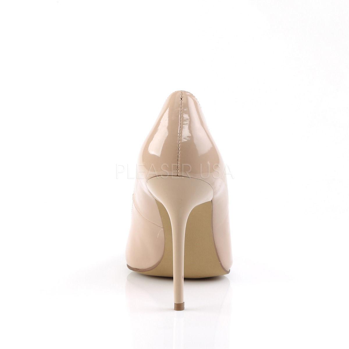 f0b63e01558 SALE PLEASER Shoes Sexy Pointed Toe Tan Cream 4
