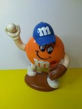M&M's Mars Official Brand Collectible Orange Baseball Dispenser - $17.99