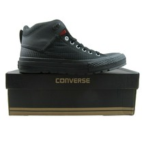 Converse Chuck Taylor All Star Street Boot Size 10 HI Black Terra Red 15... - $64.34