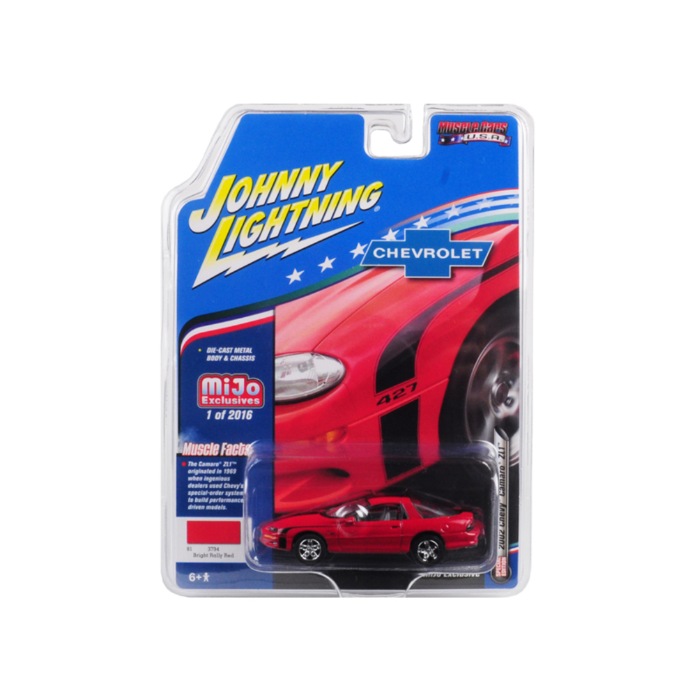 2002 Chevrolet Camaro ZL1 427 Red Muscle Cars USA Limited Edition to 2,016 piece