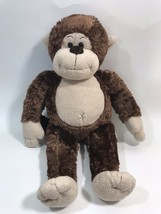 "Build A Bear Workshop BAB Brown Plush Monkey 18"" Stuffed Animal - $14.84"