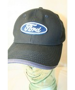 Ford Est.1903 Officially Licensed Adjustable Dad Cap Hat black Navy whit... - $49.95