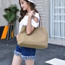 High Quality Large Capacity Canvas Tote Bag Women Handbag Shoulder - $114.97 CAD