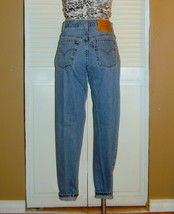 Vintage Levis 550 High Waisted Tapered Mom Jeans~14S~ - $35.00