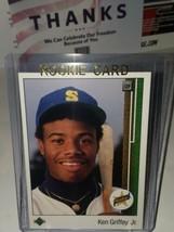 1989 Upper Deck Ken Griffey Jr. Rookie Card #1- Mariners- HOFer     - $25.11