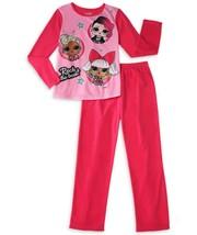 Lol Surprise Basique Polaire Rose Pyjama Filles Taille 4-5, 6-6X Ou 7-8 Nwt - $11.77