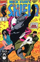 Marvel NICK FURY, AGENT OF S.H.I.E.L.D. (1989 Series) #21 FN/VF - $0.69