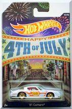 Hot Wheels - '81 Camaro: Happy 4th Of July #02/06 (2014) *Kroger Exclusive* - $4.00