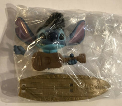 Stitch Plastic Toy Lilo And Stitch Elvis Presley Blue - $4.94
