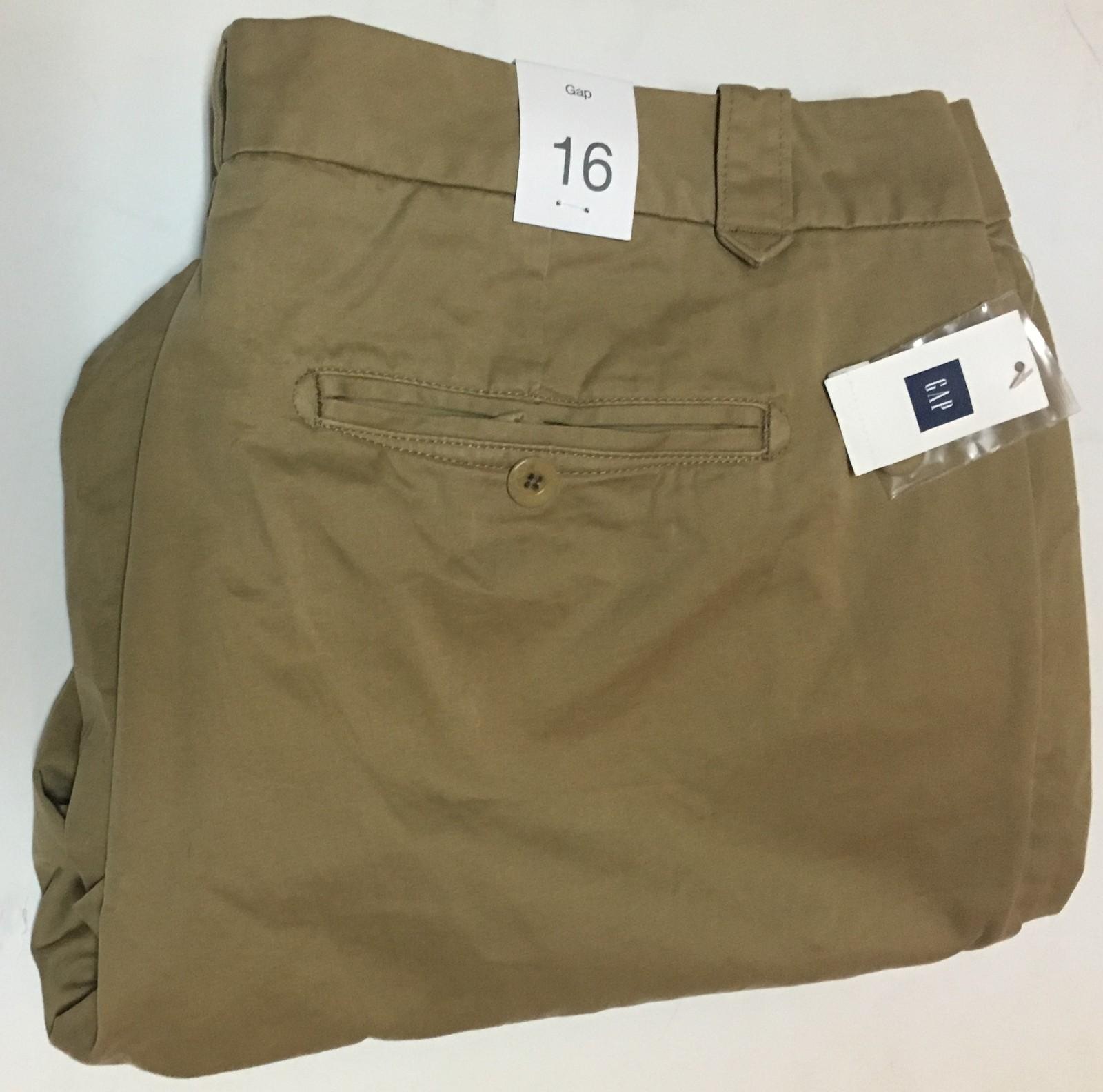 GAP Women's Cargo Beige Pants Khakis Chinos Sz 16 NWT