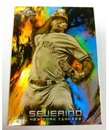2018 Topps Fire Gold Minted #47 Luis Severino Target Exclusive -New York... - $2.97