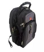 Swiss Gear Backpack Black TSA Friendly Scan Smart Laptop Space Many Pockets - $33.17