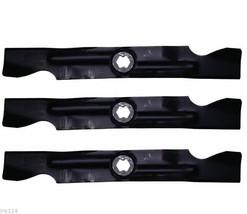 335-859 STENS SET OF 3 -- 2-in-1 Mower Mulching Blades Hi Lift - $39.97