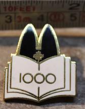McDonalds Canada 1000 Award Open Book Employee Collectible Pinback Pin Button - $12.37