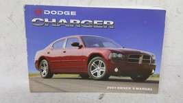 2007 Dodge Charger Owners Manual 52837 - $46.89