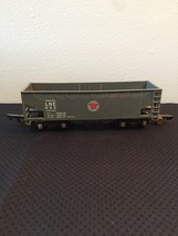 American Flyer Railroad Car #632 - LNE (Lehigh New England) grey hopper car image 1