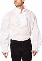 Forum Novelties Gerüscht Vampir Kolonial Hemd Erwachsene Herren Hallowee... - $20.92