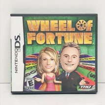 Wheel of Fortune (Nintendo DS, 2010) Tested & Working - Complete - $12.86