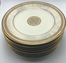 Mikasa China L2201 Ivory Florentine 8 Dessert Plates - $89.99