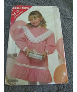Vintage See And Sew 5519 Size B (6-6-6X) Sewing Pattern - $6.99