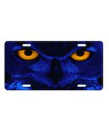 BLUE OWL EYES LICENSE PLATE CUSTOM NOVELTY PLATE CAR TAG - $14.68