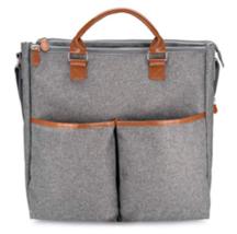 Motif  Multi-Pocket Maylilly Electric Breast Pump Tote Bag  Grey - $29.95