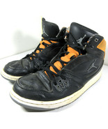 Nike Jordan 1 Flight Basketball Shoes Black Orange 2013 Size US Men's 8.... - $29.65