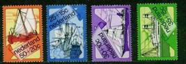 NETHERLANDS 1973 # B493-6 SAIL SHIPS STEAMSHIP MNH SAILBOATS 15136-A4 - $2.52