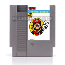 Super Bros The Lost Levels - 72 Pins 8 Bit Game Cartridge - $24.99