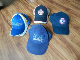 Lot of 4 Baseball Cap Hat Navy Blue Angels Marines Different Styles - $17.99
