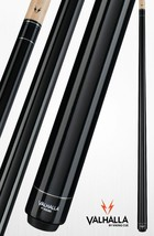 Black VA101 Valhalla Viking Two-piece Billiard Pool Cue Stick Lifetime Warranty - $65.99+