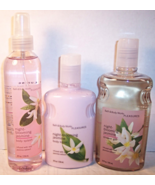 Bath & Body Works Night-Blooming Jasmine Body Lotion Mist Shower Gel Set - $99.99