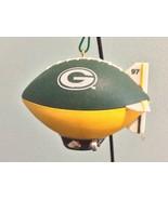 Green Bay Packers Ornament Football Christmas Blimp