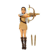 "DC Comics Wonder Woman Warrior Doll w/ Live Action Bow/Arrows 12"" - $7.89"
