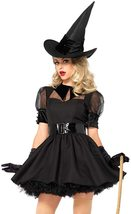 Leg Avenue Women's Classic Bewitching Witch Costume Set