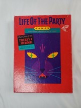 NEW Life of the Party 1987 MB Murder Mystery game  NEW Open box - $19.95