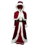 Deluxe Classic Mrs. Santa Claus Costume HC-023 - £54.05 GBP
