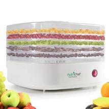 NutriChef Food Dehydrator Machine - Professional Electric Multi-Tier Foo... - £76.70 GBP